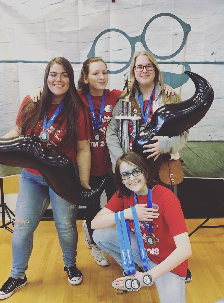 High School Odyssey of the Mind State Champions