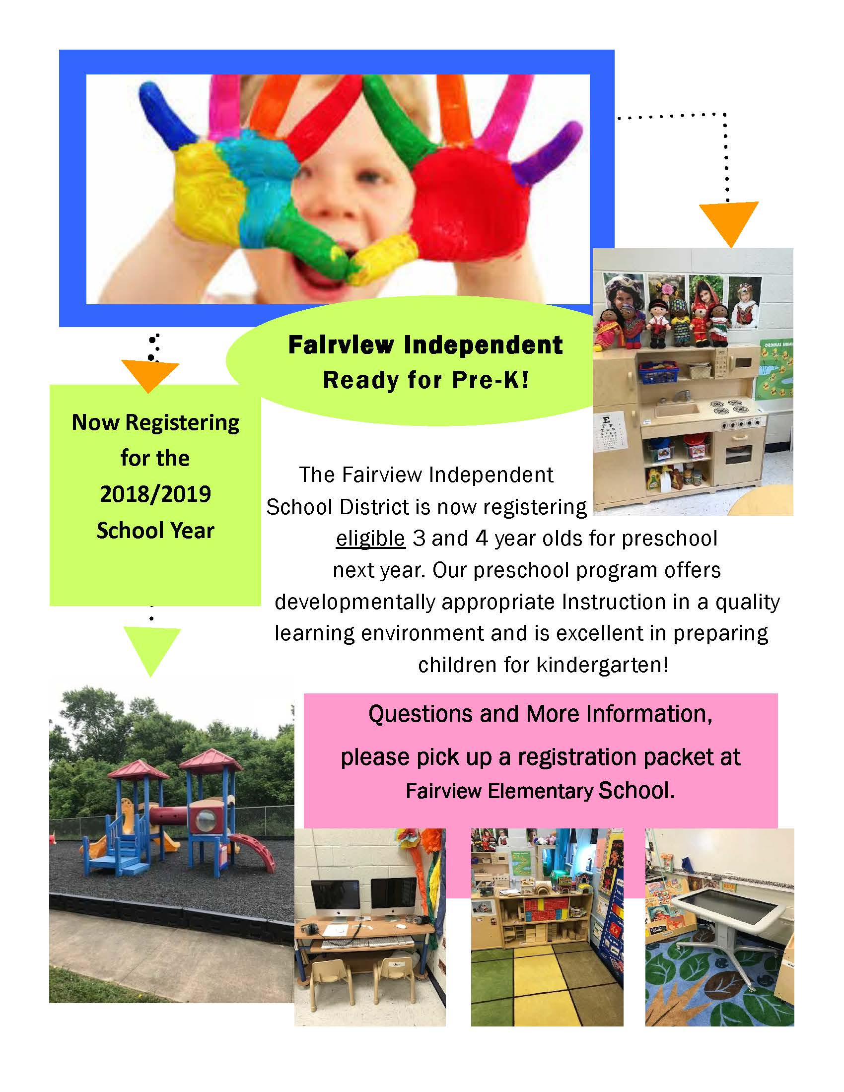 Preschool Registration Flyer